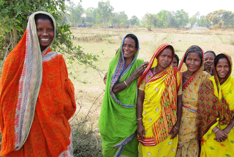 These women in Odisha, India, have been approved to receive titles to land, thanks to the work of India's first Women's Land Rights Facilitation Center, which opened on International Women's Day in 2011.